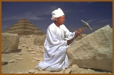 Craftsman in Sakkara